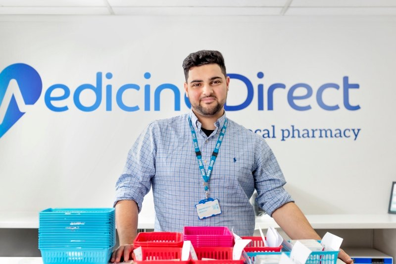 Hussain Abdeh Superintendent Pharmacist Medicine Direct UK Online Pharmacy