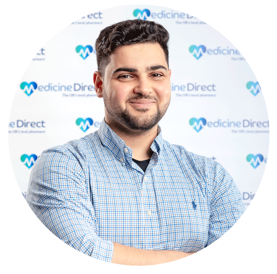 Superintendent pharmacist Hussain Abdeh at Medicine Direct