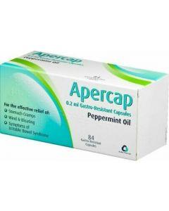 Apercap Peppermint Oil Capsules - Medicine Direct