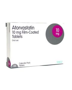 Buy Atorvastatin High cholesterol tablets from Medicine Direct UK Online Pharmacy