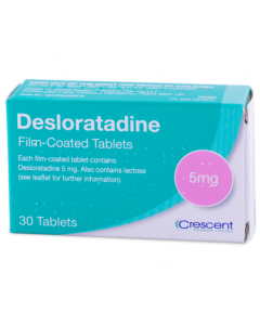 Desloratadine 5mg Allergy Relief Hay fever - Medicine Direct UK Online Pharmacy