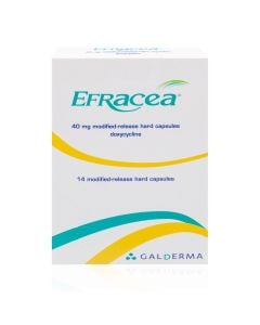 Efracea Modified Release Capsules 40mg Rosacea Treatment - Medicine Direct