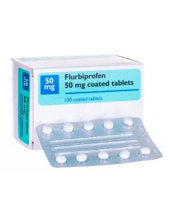 Flurbiprofen (50mg & 100mg) Tablets