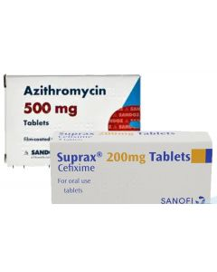Cefixime (Suprax) With Azithromycin