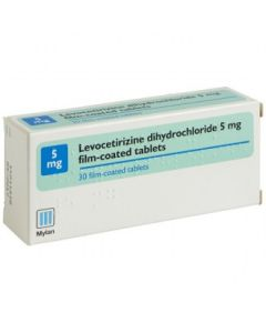 Levocetirizine 5mg Tablets