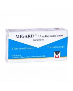 Migard 2.5mg - 6 Tablets