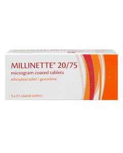 Millinette Pill 20/75 and 30/75 UK Online Pharmacy Medicine Direct