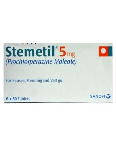 Stemetil branded prochlorperazine 5mg tablets medicine direct online pharmacy