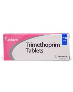 Trimethoprim 200mg (6 Tablets)