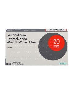 Buy Lercanidipine 10/20mg High Blood Pressure Tablets from Medicine Direct Online Pharmacy